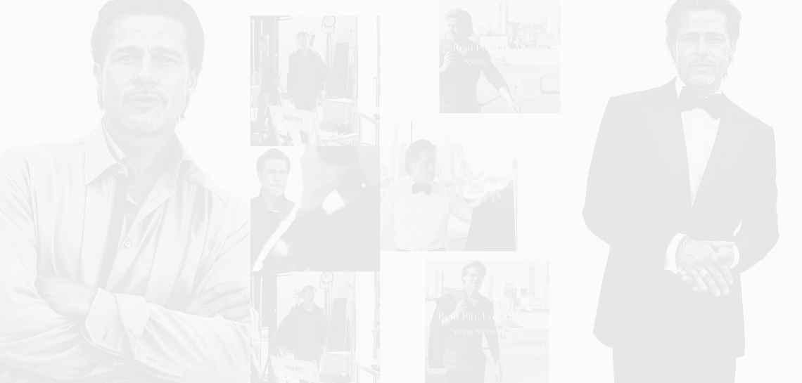 Брад Пит ще създаде собствена линия дрехи, но първо позира за Brioni