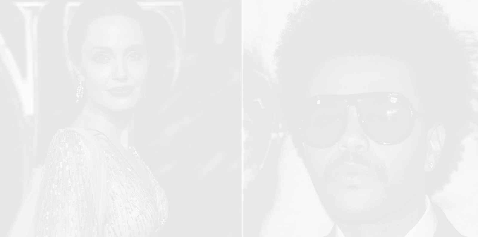 Какво, за бога, се случва между Анджелина Джоли и The Weeknd?