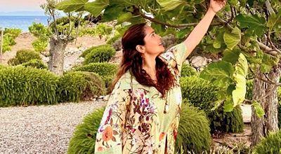 Салма Хайек: на 54 и без капка грим