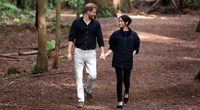 И новият портрет на Меган и Хари не остави хейтърите безразлични...