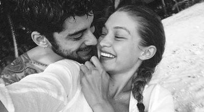 """Джиджи Хадид, Зейн Малик и """"емоционалните"""" първи дни от семейния живот"""