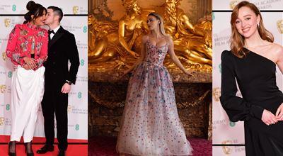 По червения килим на наградите БАФТА