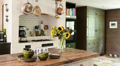 12 идеи за кухня в зелено (ГАЛЕРИЯ)