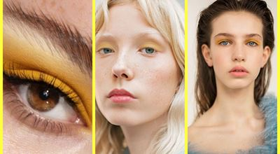 Жълти сенки за очи - слънчевият тренд на пролет-лято 2021