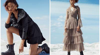 Разгледайте забележителните модели от колаборацията SANDA MANSOUR X H&M