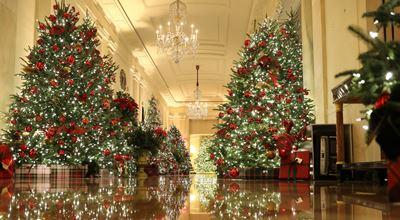 Коледната украса в Белия дом е наистина впечатляваща!