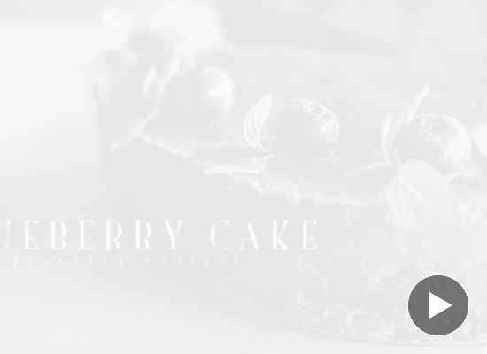Кейк с боровинки за вегани