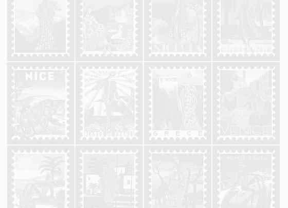 Винтидж пощенски марки вдъхновиха колекция на Мери Катранзу